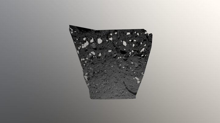 MASCOT release by Hayabusa 2 3D Model