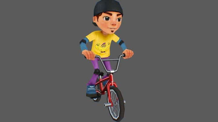 Bmx rider 3D Model