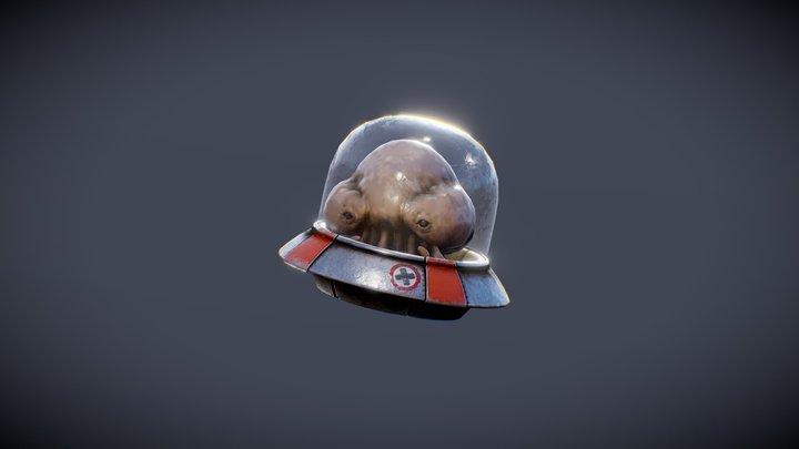Metal Slug Martian - Mini Ufo 3D Model