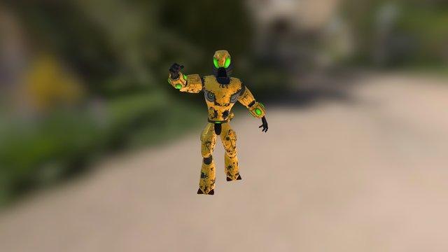 Xylon Soldier 3D Model