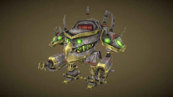 Iron Shredder Fan Art 3D Model