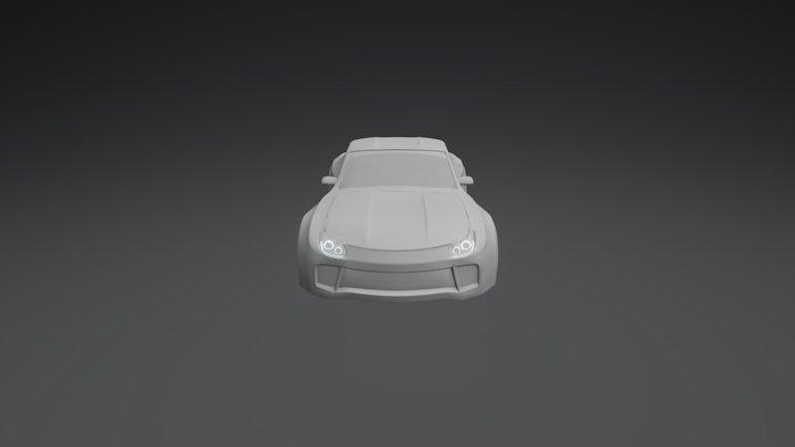 Widebody Concept Car 3D Model