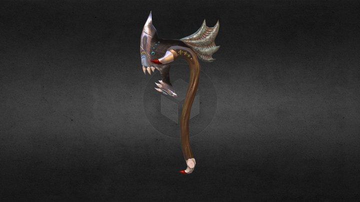 Dragon Axe 3D Model
