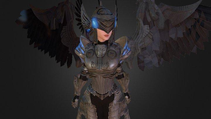 Kickstarter Exclusive II - Female Costume 3D Model