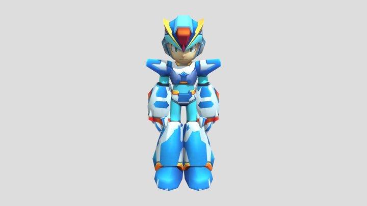 PSP - Mega Man Maverick Hunter X - X 3D Model