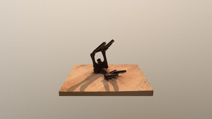 Pince en fer 3D Model