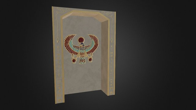 Shrine Surround 3D Model