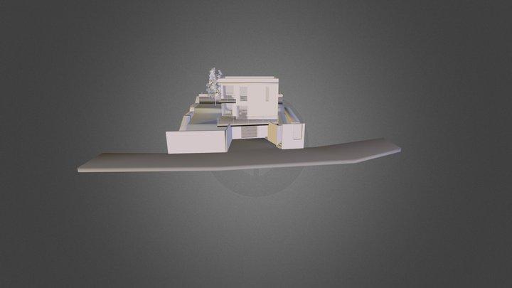 Maison Kabestan - Kabestan House 3D Model