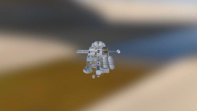 Top Down Ship V2.5 3D Model