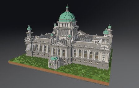 Belfast City Hall 3D Model