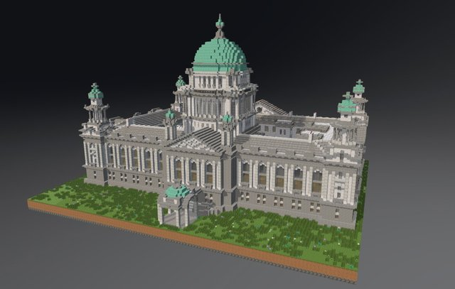 Belfast City Hall 3D Model