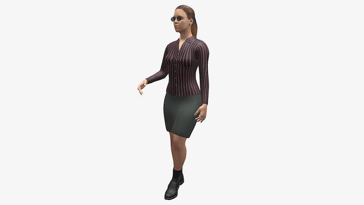 Blind Girl /Слепая Девушка 3D Model