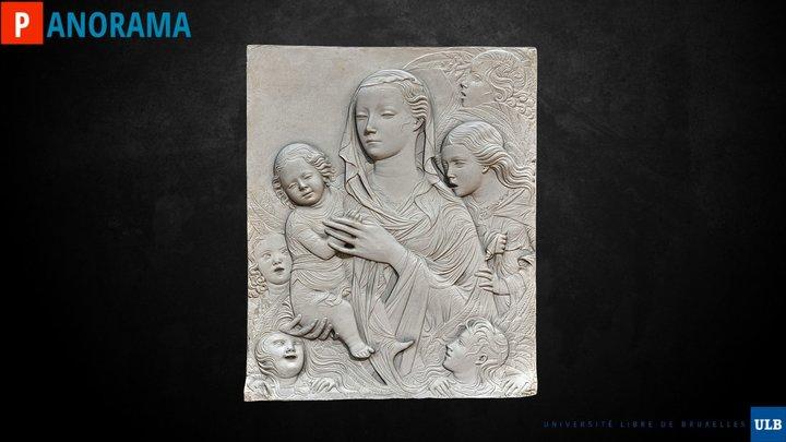 "Vierge ""Madonna del Carmine"" 3D Model"