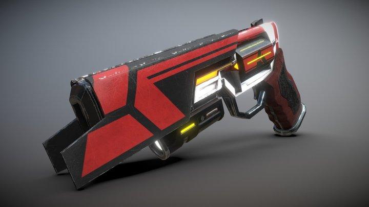 SciFi Revolver: Arena 3D Model