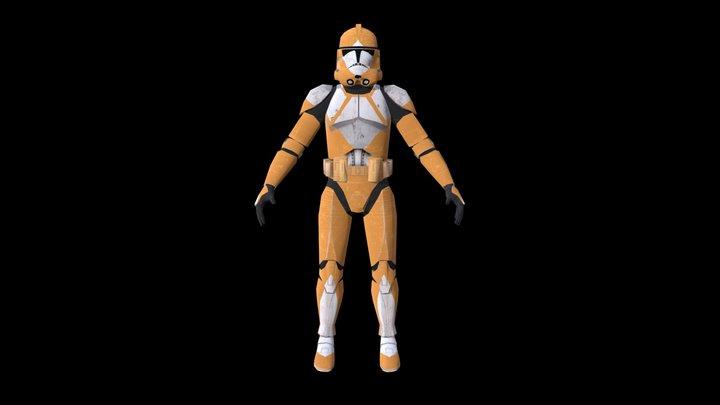 Bomb Squad trooper 3d | Star Wars 3D Model