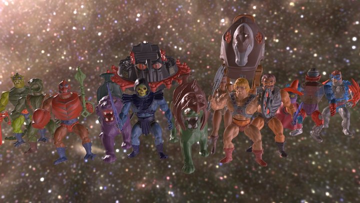 He-Man Masters Of The Universe 3D Model