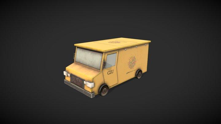 GLU Van 3D Model
