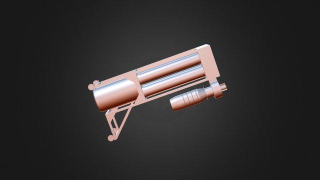 Coletor de pó com Batedor De Sacos 3D Model