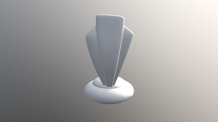 Totem-citudor porly Pole-drapox 3D Model