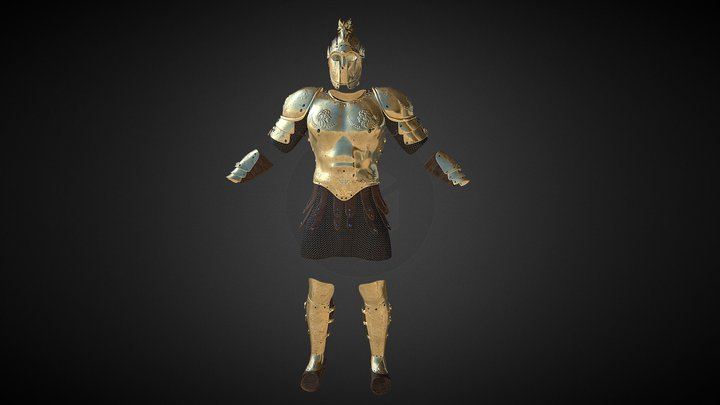 Fantasy Armor ( Kings Armor V1) 3D Model