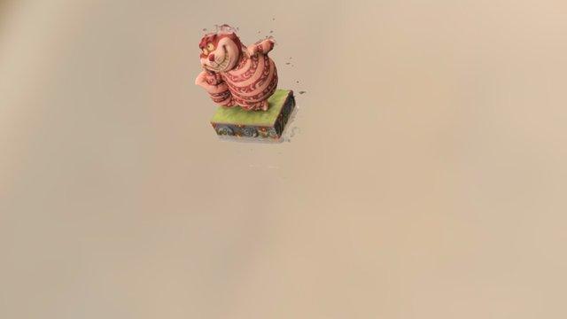 Chat du Cheshire 3D Model