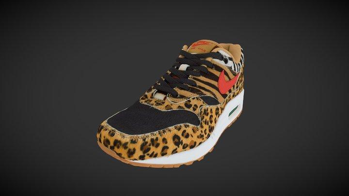 atmos x Nike Air Max Safari Animal Pack 3D Model