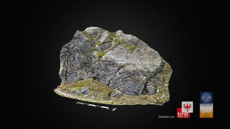 Lavezbruch 03 - Pfitscherjoch/Tyrol/AUT 3D Model