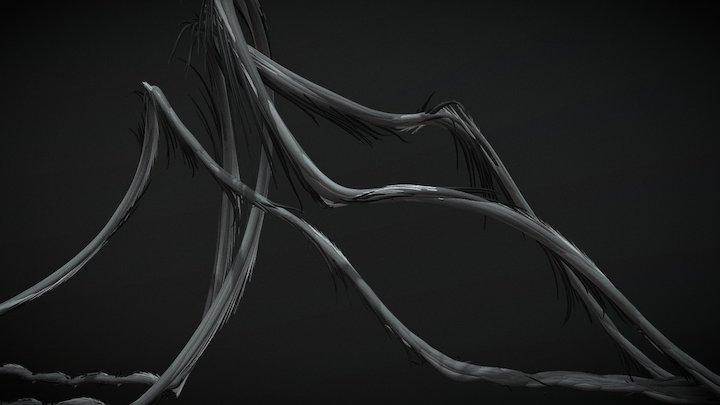 Nollie Heelflip 3D Model