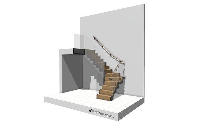Angus Codd Staircase proposal 3D Model