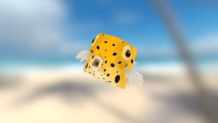 Boxy Box Fish 3D Model