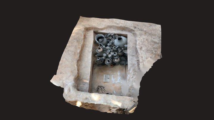 福泉洞古墳群覆屋内遺構展示 3D Model