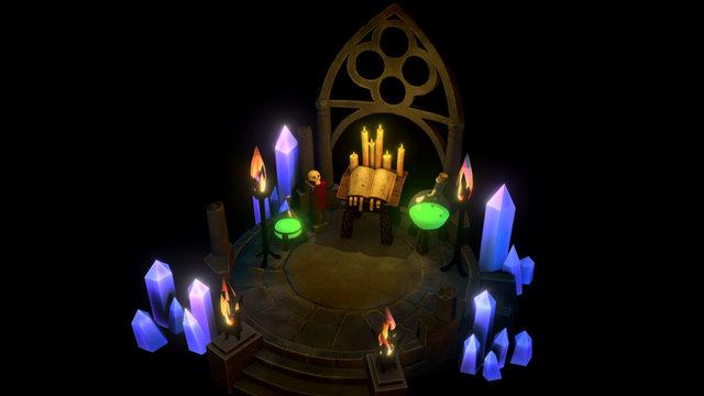Altar of sacrifice 3D Model