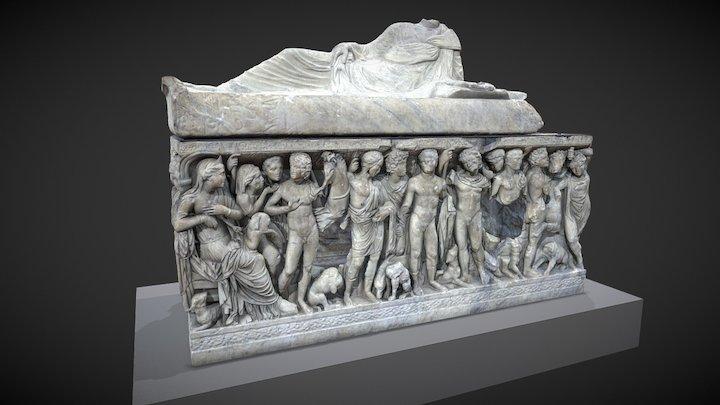 Sarcophage dit de Phèdre et Hippolyte 3D Model