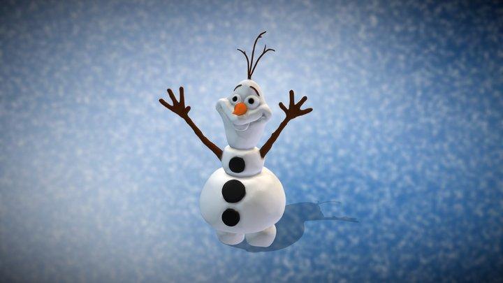Olaf 3D Model