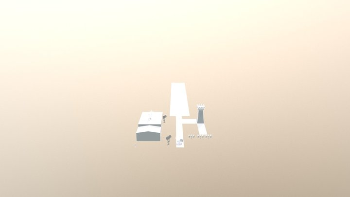 3d shooter game 3D Model