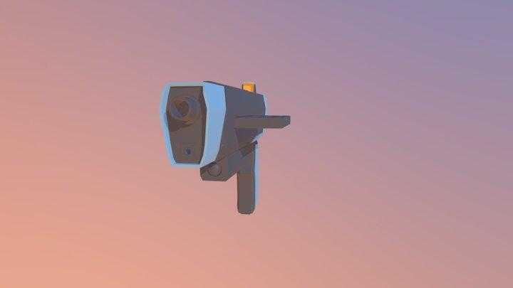 Basic_Gun 3D Model