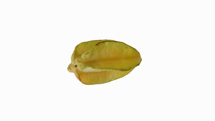 Starfruit (Belimbing) 3D Model