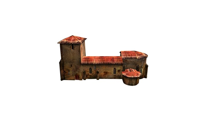 Eglise Sketfab 03 3D Model