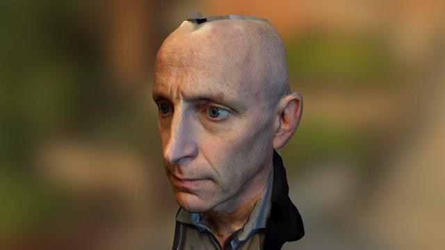 Face Scan #2 3D Model