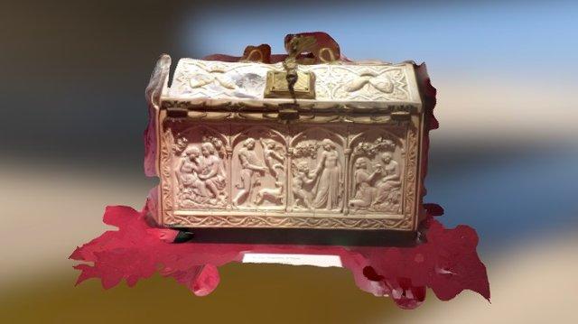 Beautiful Ivory box 3D Model