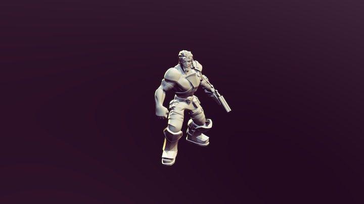 Space Pirate, 3D print Project 3D Model