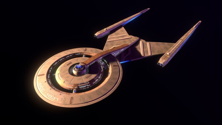 USS Discovery (Star Trek) 3D Model