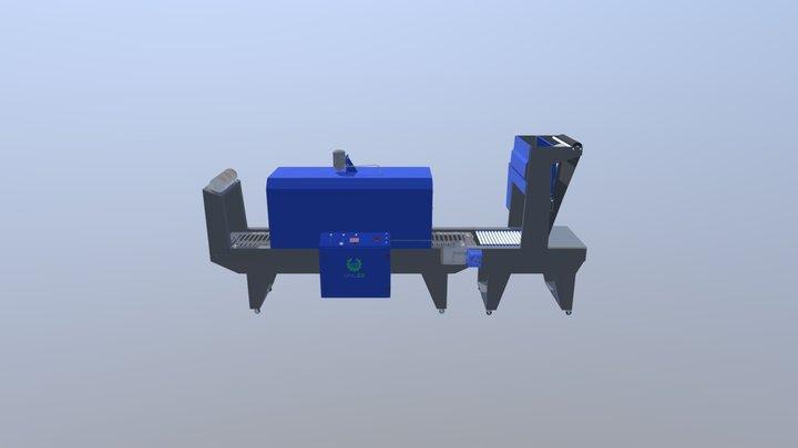 Thermal shrink packaging machine 3D Model