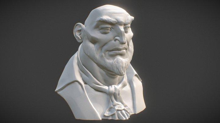 Pirate Lores 3D Model
