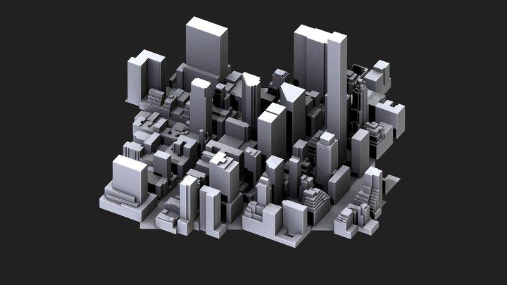 New York 3D Model