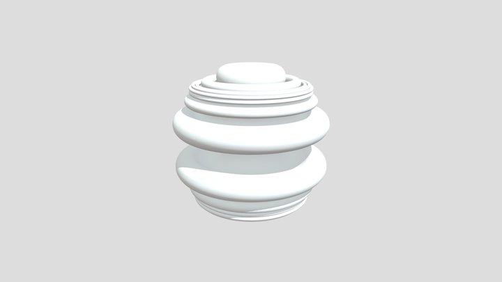 Square Phi Wiggle 3d 3D Model
