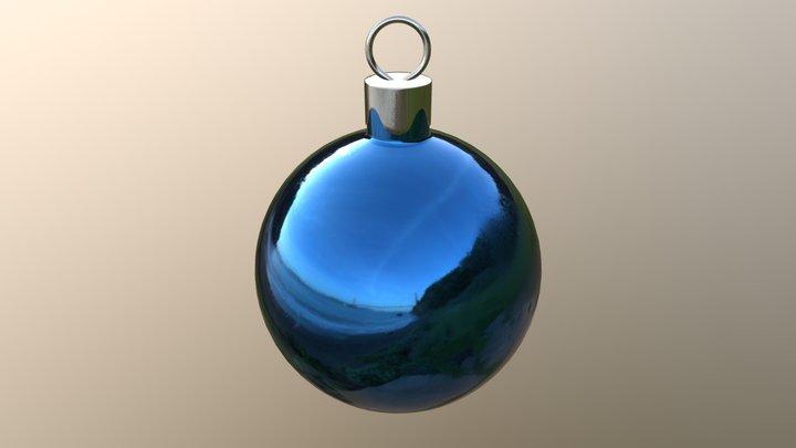 Christmas Ball Ornament 3D Model