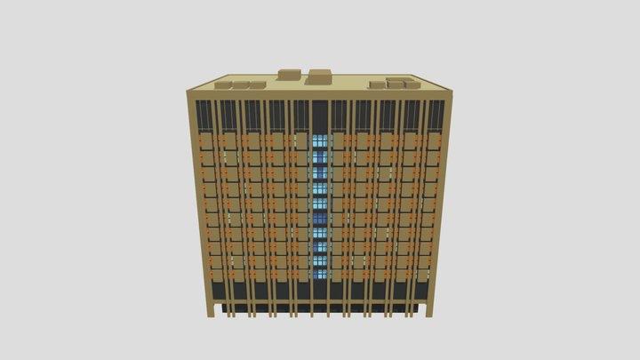 Edmonton- Toll- Bldg-2021-v1-for-export 3D Model