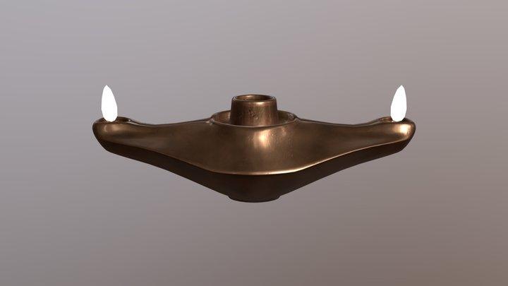 Never Ending Lamp 3D Model