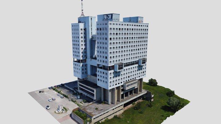Дом Советов, Калининград / House of Soviets 3D Model